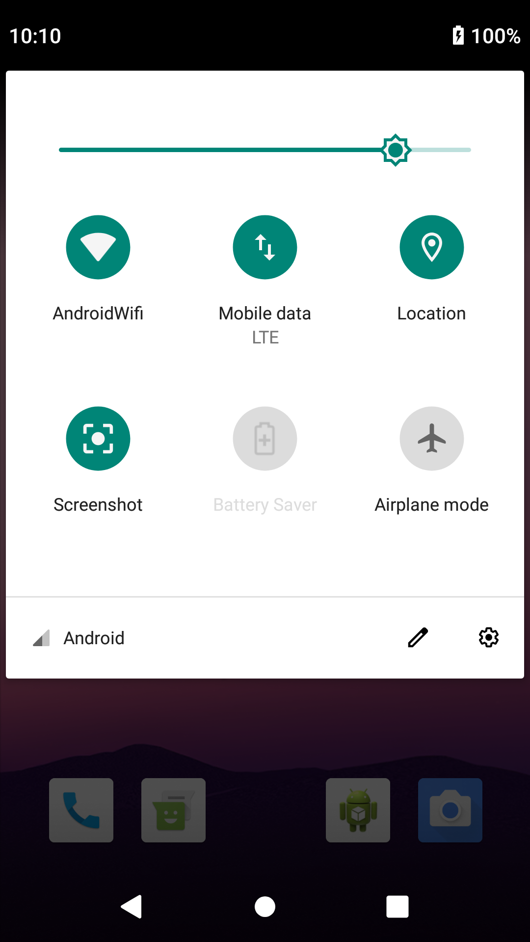 Screenshot Tile (NoRoot) | F-Droid - Free and Open Source