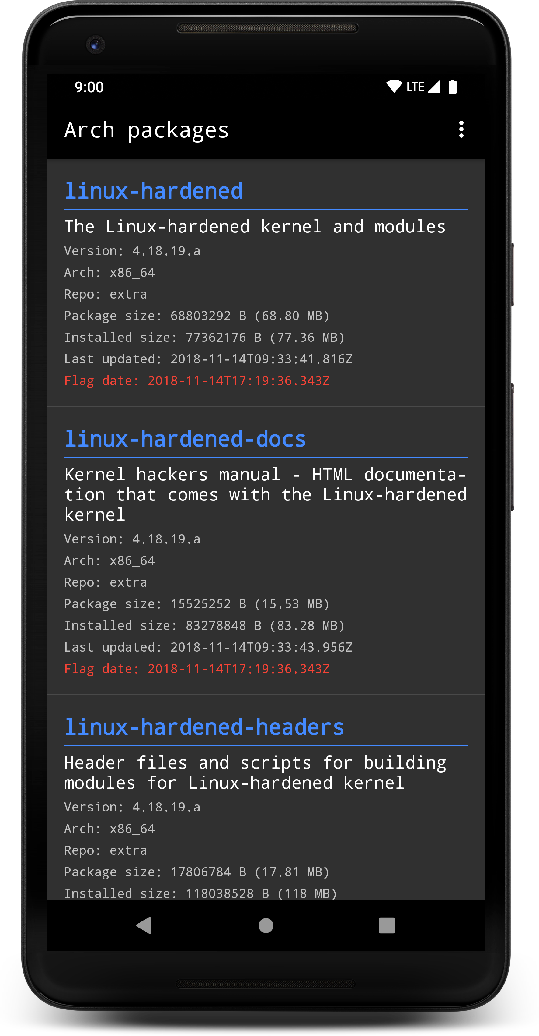 Arch packages | F-Droid - Free and Open Source Android App Repository
