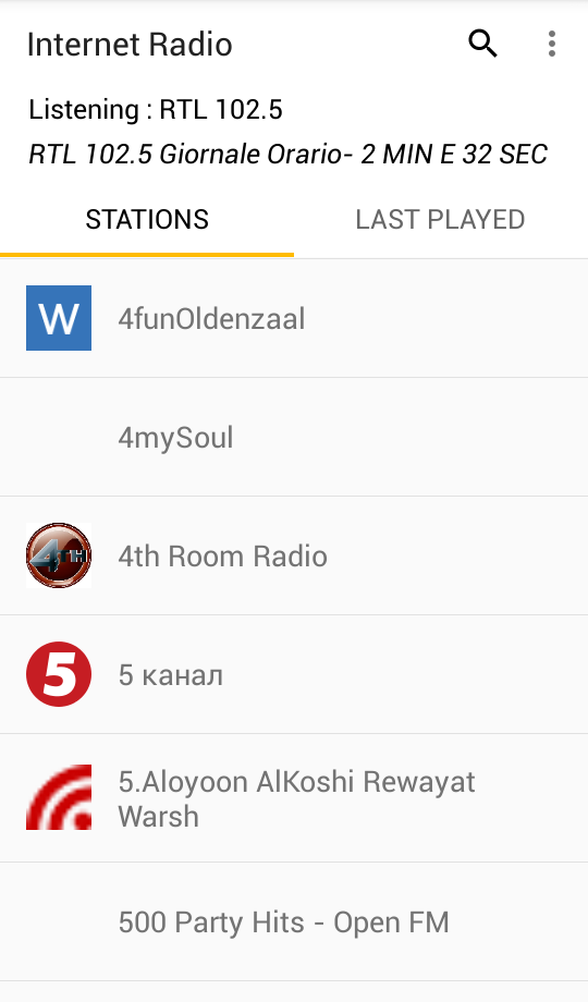 Internet Radio | F-Droid - Free and Open Source Android App